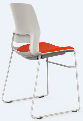 Sled Base Town Chair