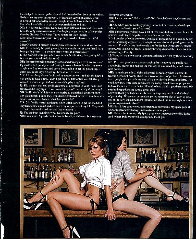 Nikki Dodge & Monica Renee