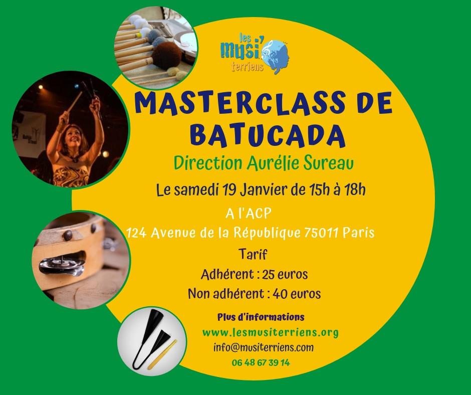 Masterclass Batucada