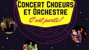 Concert Choeurs & Orchestre