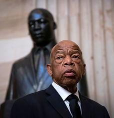 JohnLewis in front of MLK.jpg