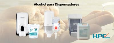 Alcohol para manos