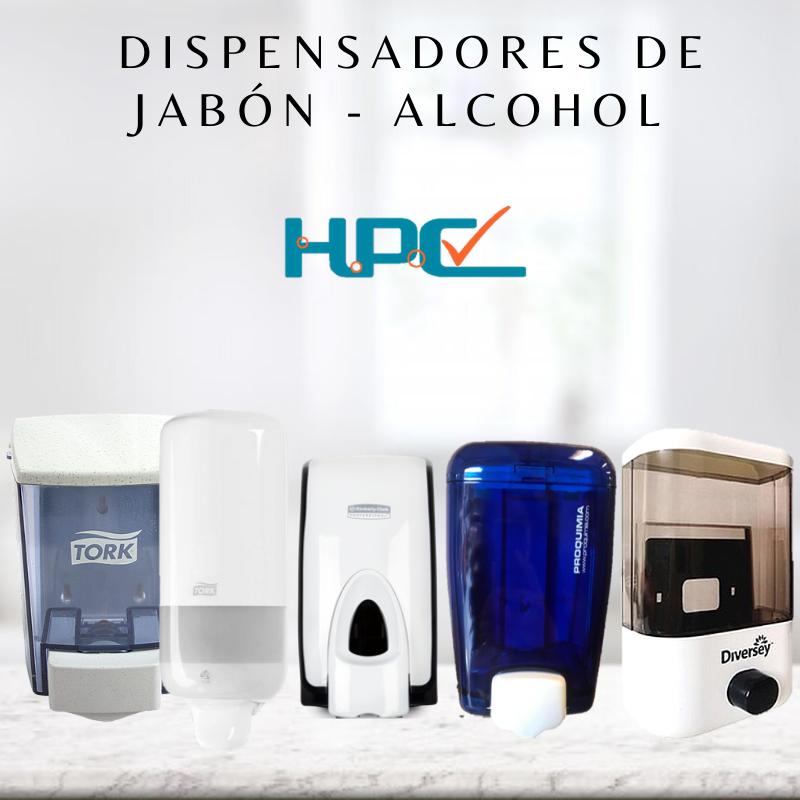 Dispensadores de Alcohol gel - Dispensadores de Jabon