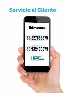 contacto hpc chile, Numero ventas HPC CHILE, Ventas