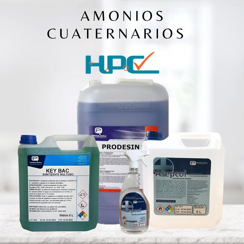 Amonios cuaternarios, hpc chile, PROQUIMIA
