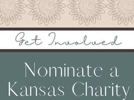 Nominate a Kansas Charity beneficiary