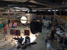 Stadium lighting Studio B