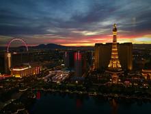 Vegas still from the 31st floor