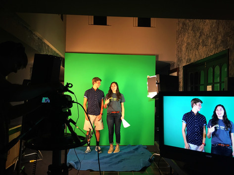 Green Screen Hollywild hosts
