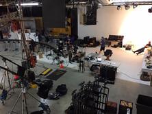 Studio B equipment layout