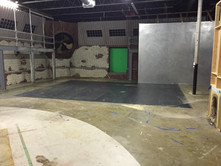 Warehouse Set and Chrome Wall
