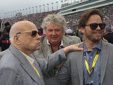 Bruton Smith, C Ison and Marcus Smith LVMS