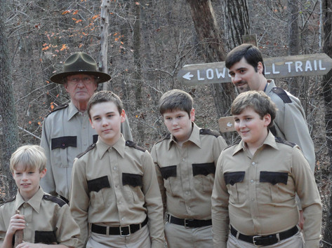 """The Troop"" Nathan on set of 'The Taking of Deborah Logan'"