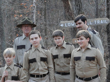 """The Troop"" Nathan on set of 'The Taking of Deborah Logan'"