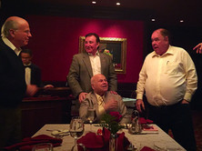 Richard Childress, Bruton Smith, Michael Gaughan