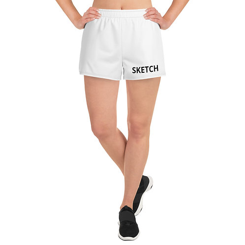 Designer Women's Athletic Shorts by SKETCH