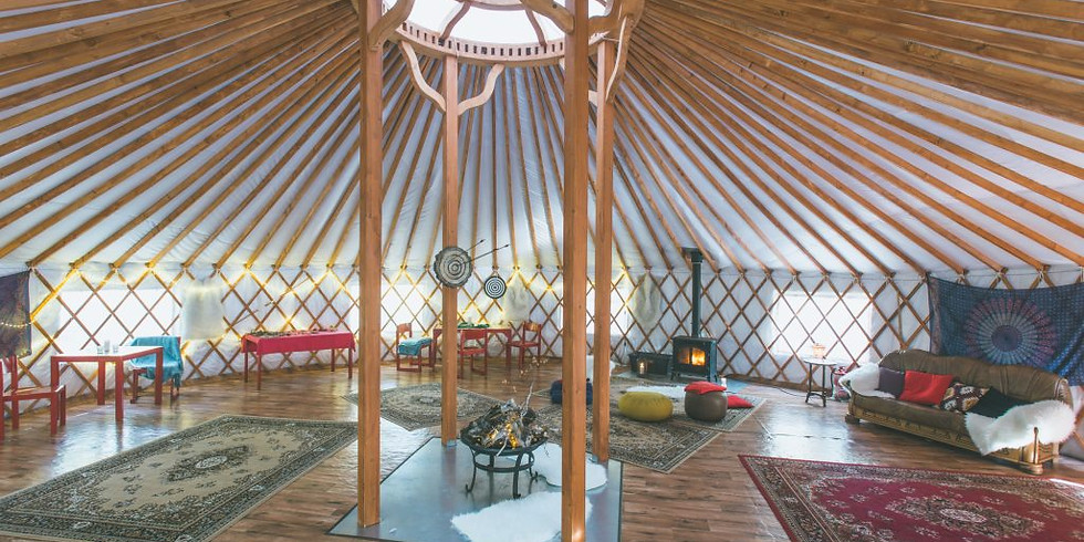 Nature Getaway #2: Yoga in a Nomadic Yurt (sold out)