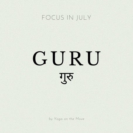 Focus of the Month - July