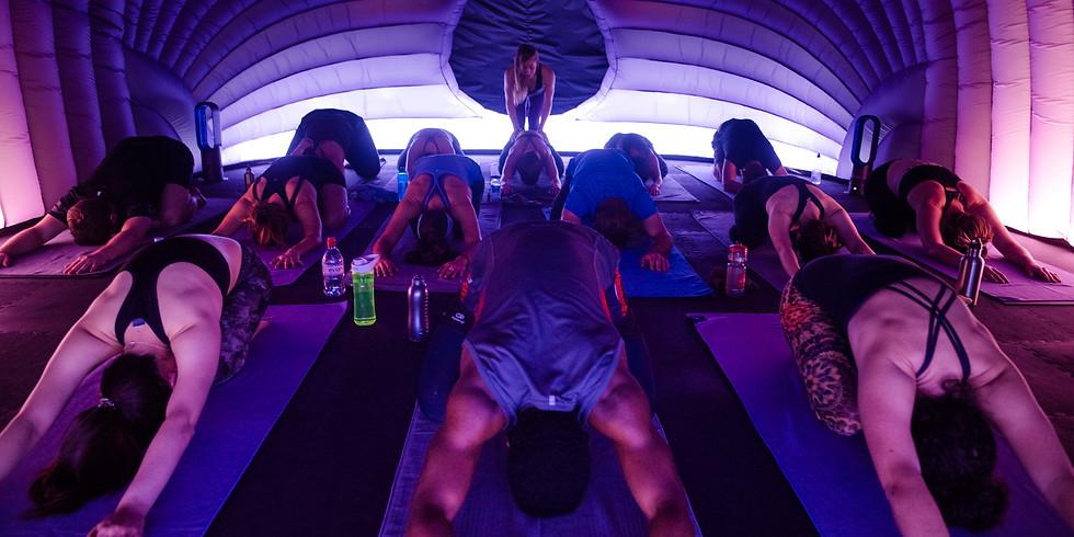 Heated Yoga at Hotpod