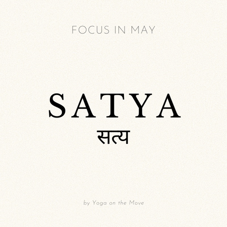 Focus of the Month - May