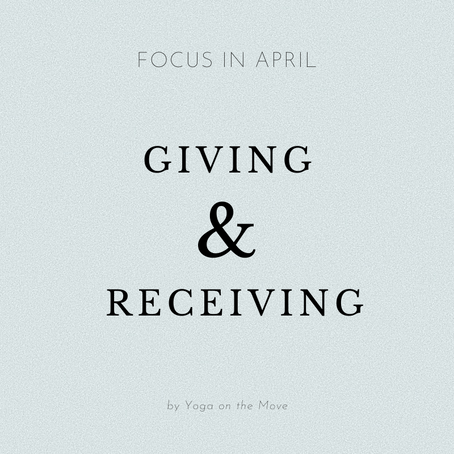 Focus of the Month - April