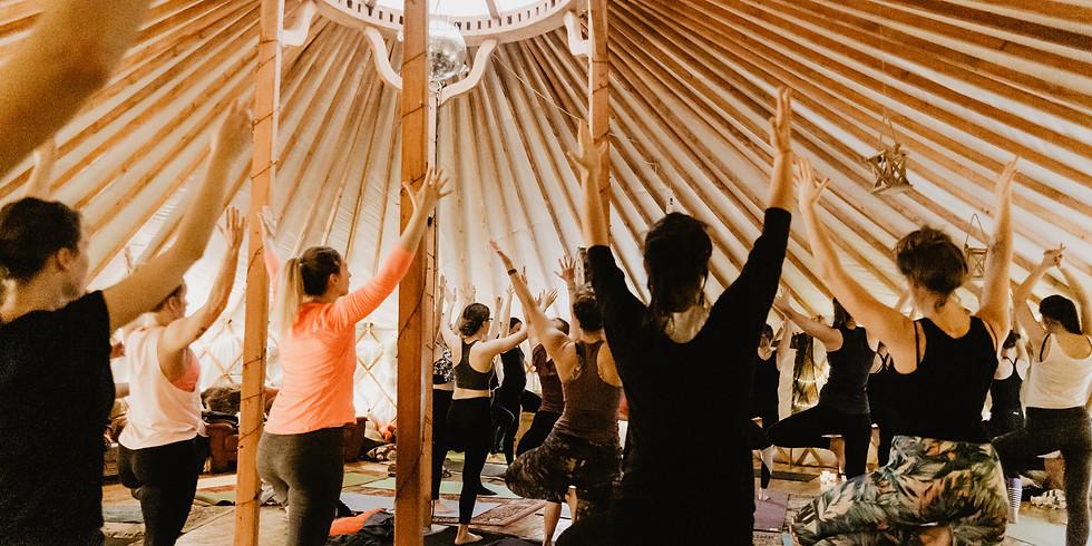 Nature Retreat: Yoga in a Nomadic Yurt
