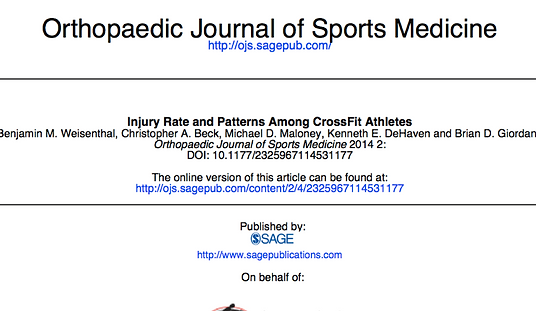 injury, Crossfit, athlete, performance, injury prevention, mobility, movement analytics