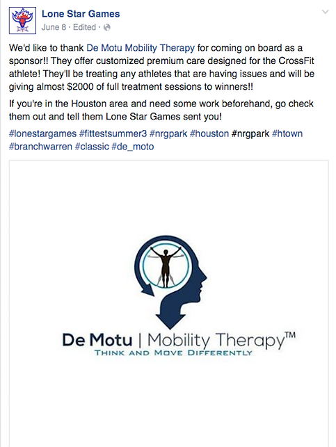 De Motu Mobility Therapy