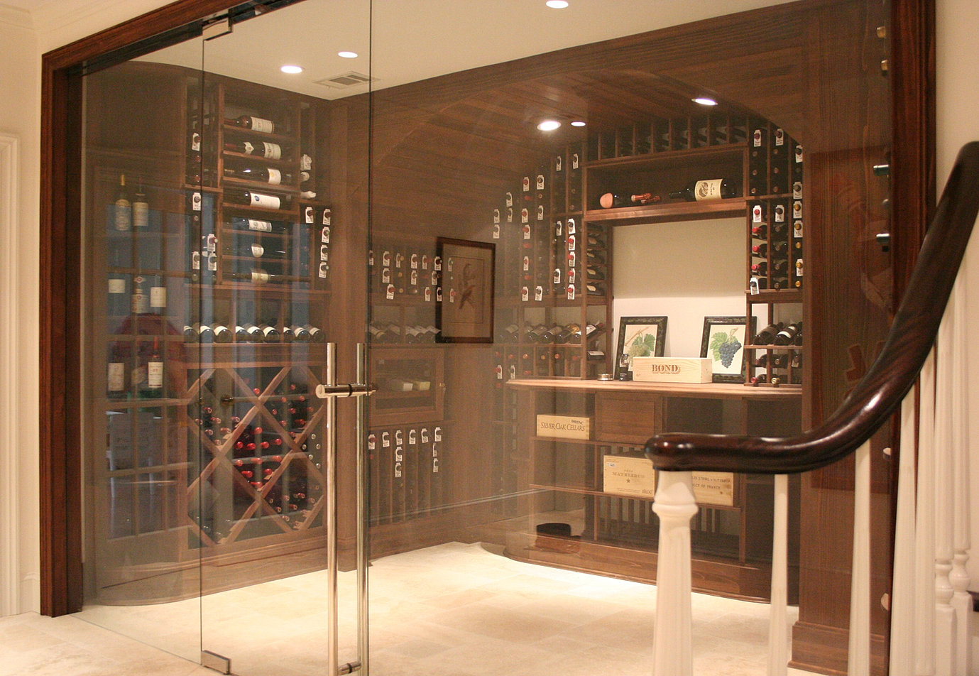 Glass enclosed wine cellar - We Have Spent Extensive Time To Research The Optimal Installation For An All Glass Wine Door Or Cellar With A Glass Enclosed Wine Room Or Cellar You Can