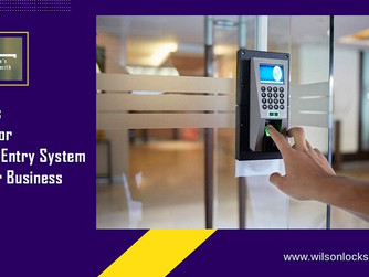 Why Keyless Entry Systems Are Ideal for Your Business
