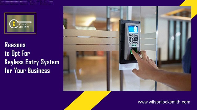 Reasons to Opt For Keyless Entry System
