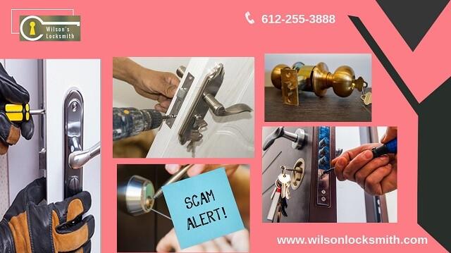 locksmith scam