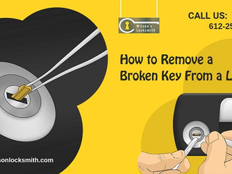 Has Your Key Broken Inside A Lock? Here Is How to Get It Out!