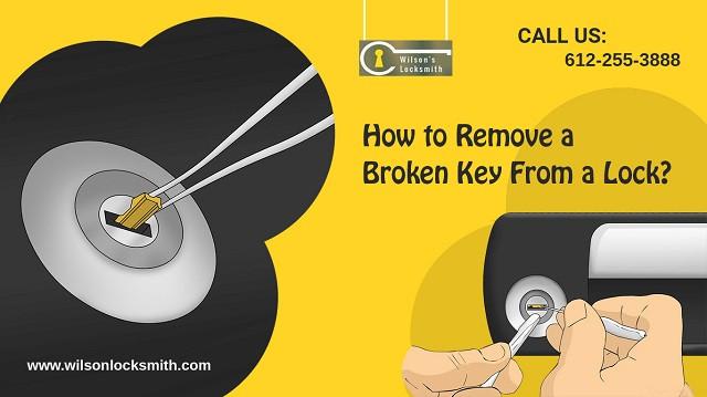key gets stuck on lock