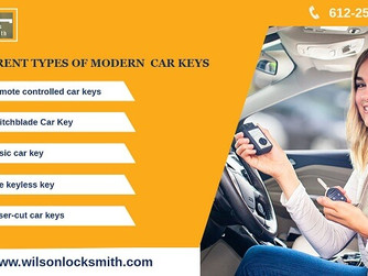 5 Types of Effective Modern Car Keys That Keep Your Car Protected