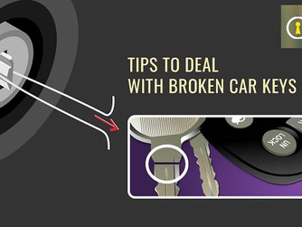 Here's How to Deal with Your Broken or Lost Car Keys