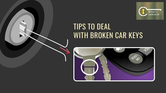 Tips to Deal with Broken Car Keys