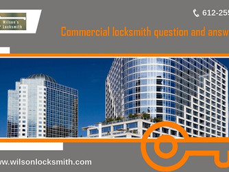 Important Points You Must Remember When Hiring Commercial Locksmith Expert