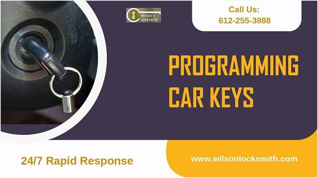 Car keys programming