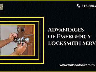 Top 3 Advantages of Emergency Locksmith Services You Should Know