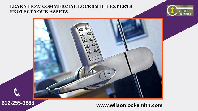 Learn how commercial locksmith expertsprotect your assets
