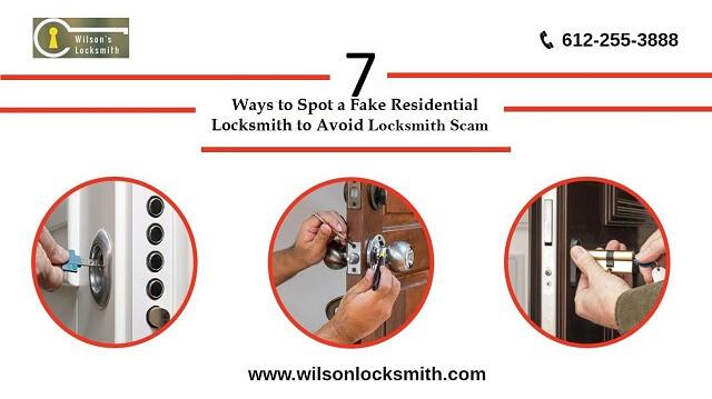 7 Ways to Spot aFake Residential Locksmith to Avoid Locksmith Scam