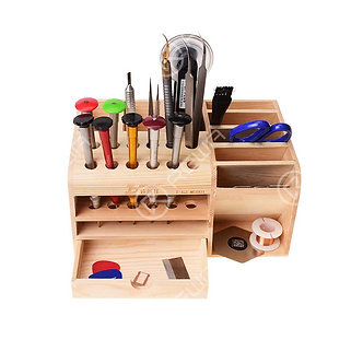 Woody Multi-Function Screwdrivers And Tools Storage Box-OEM NEW