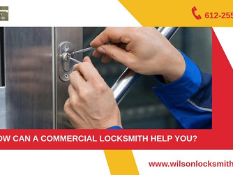 6 Ways The Locksmiths Can Boost The Security System of Your Office