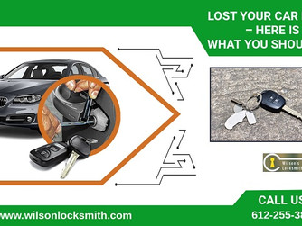 Lost Your Car Keys? – Here Is What You Should Do