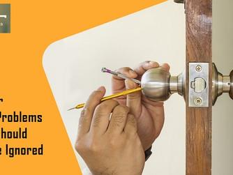 5 Door Lock Problems That Property Owner Shouldn't Overlook