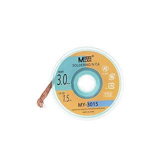 3.0mm x 1.5m Soldering Wick MY-3015 - OEM NEW