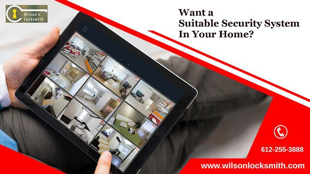 Want a suitable security system in your home