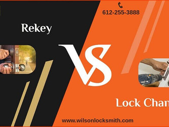 """Rekey"" Or ""Changing Your Lock"" Which One Is Better?"