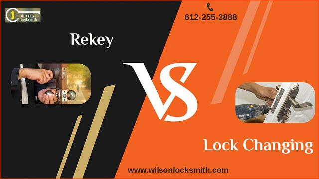 rekey vs lock changing